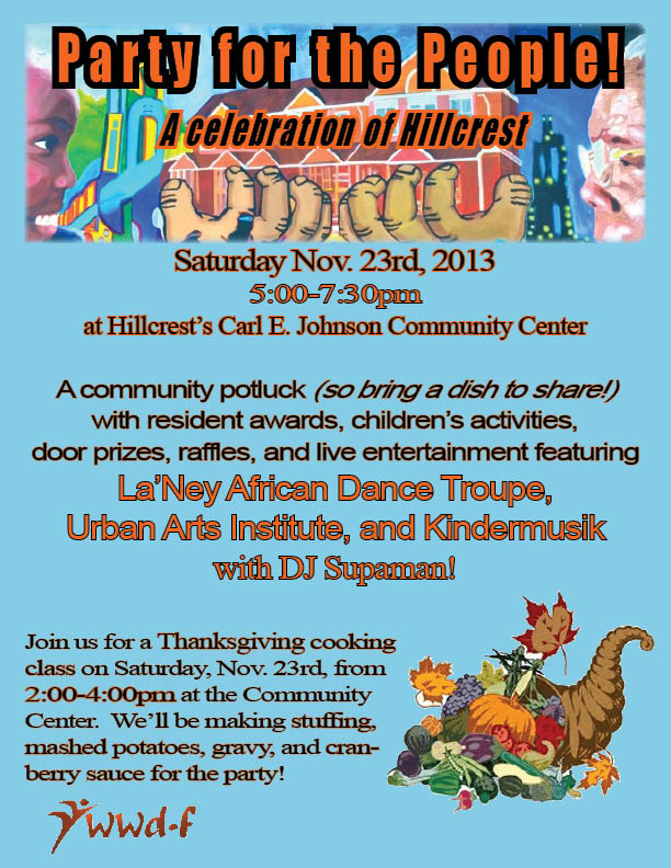 Hillcrest PFP Flyer 2013 2