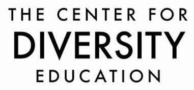 center for diversity education logo