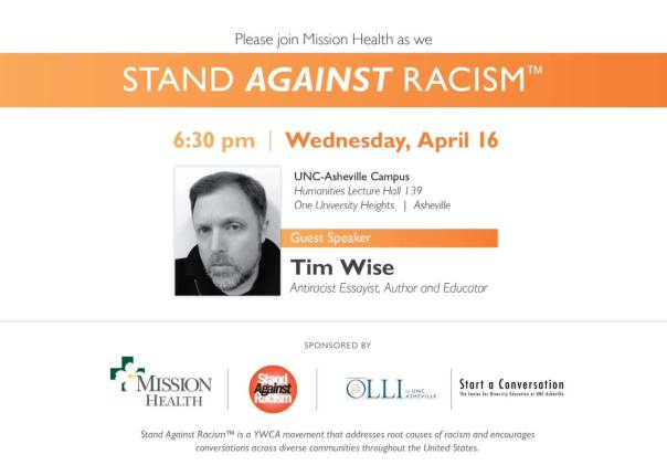 tim wise april 16 unca