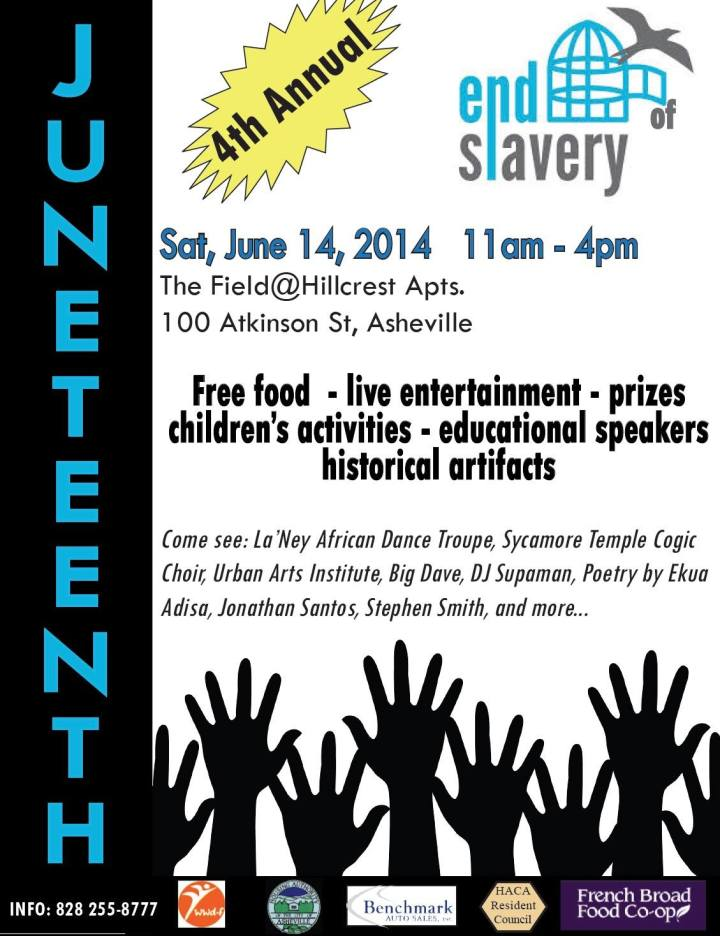 juneteenth flyer