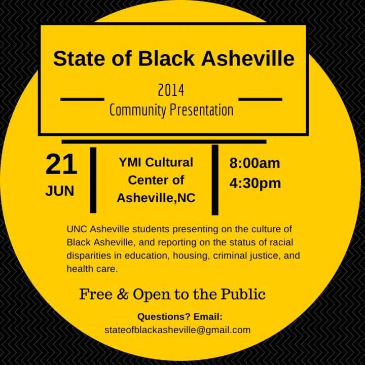 state of black asheville 2014