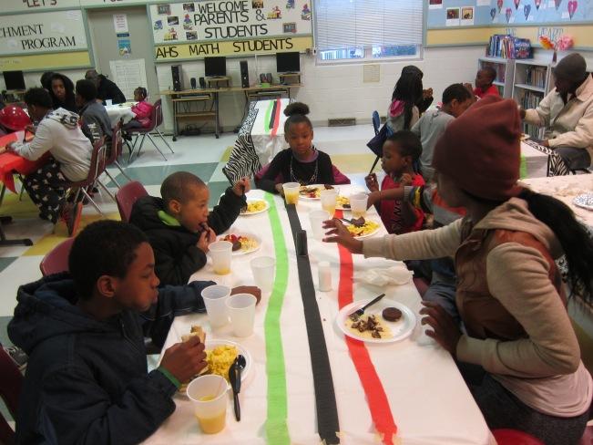 children at hillcrest breakfast