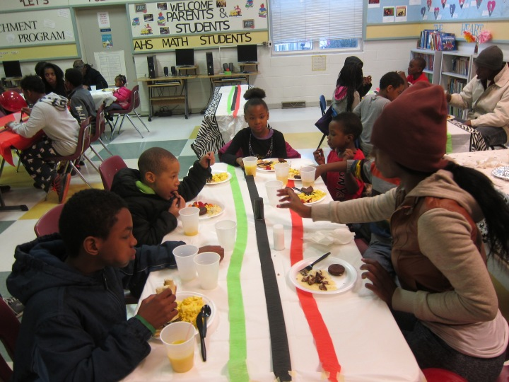 children at hillcrest breakfast