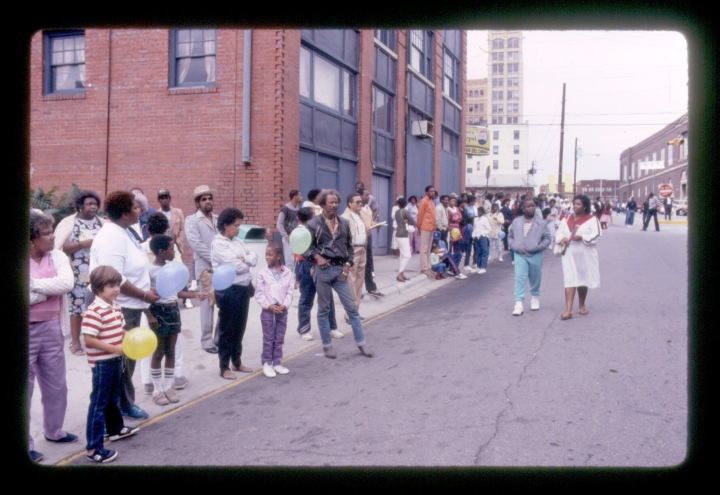 YMI Slide Goombay 1986 Asheville African American History