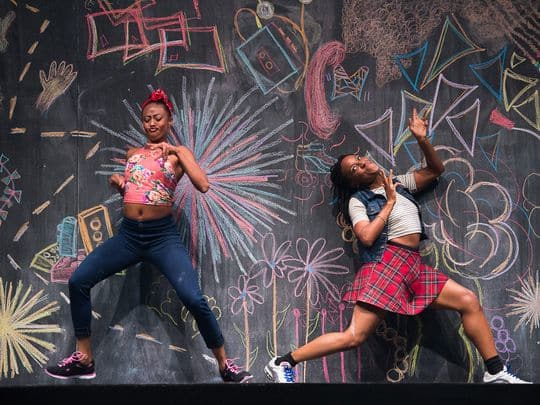 camille-brown-black-girl-linguistic-play-fana-fraser-and-beatrice-capote-photo-by-christopherduggan-02