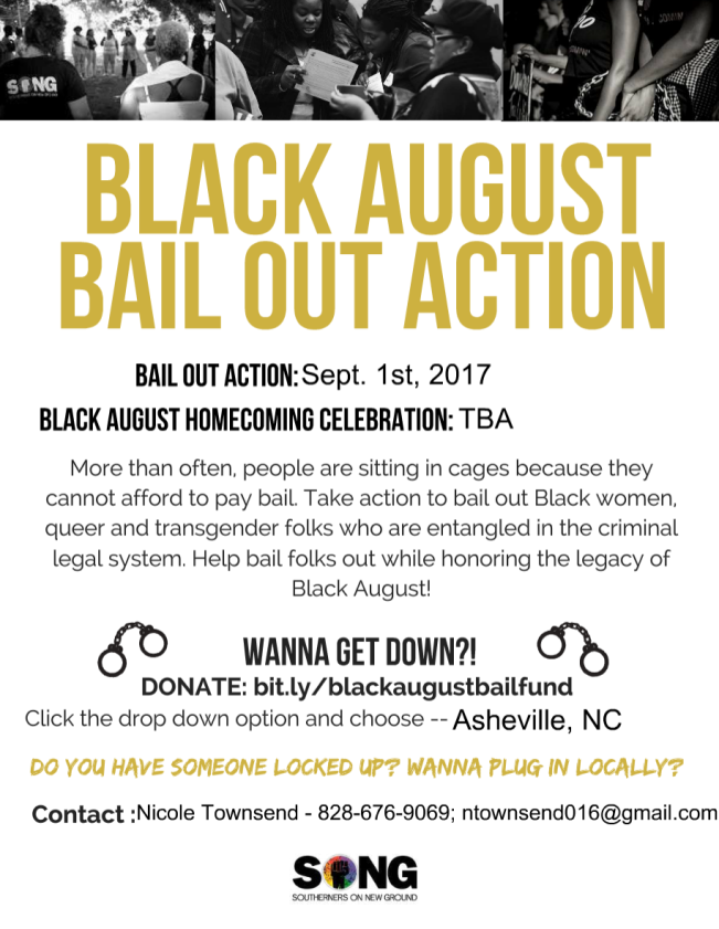 Black August Flyer