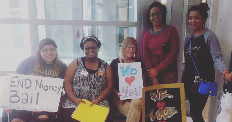 Black Mamas Bail Out Day in Asheville