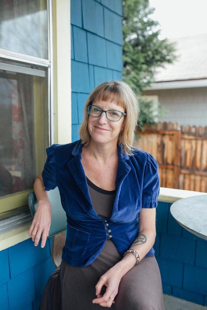 Ami Worthen. Photo by Makeda Sandford.