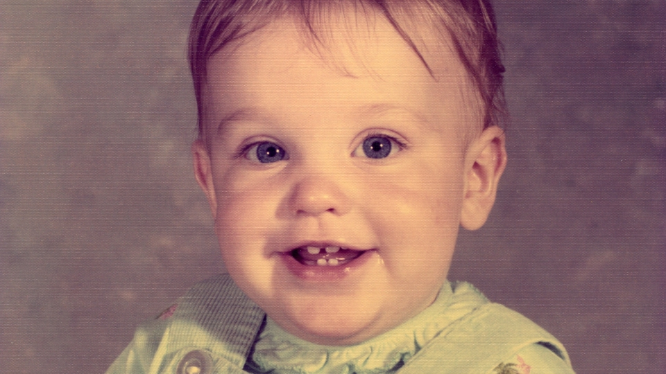 Ami Worthen as a baby.
