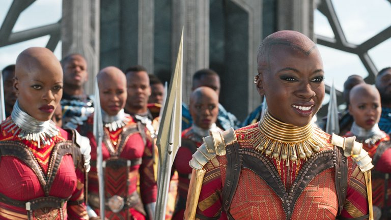 Dora Milaje of the film Black Panther