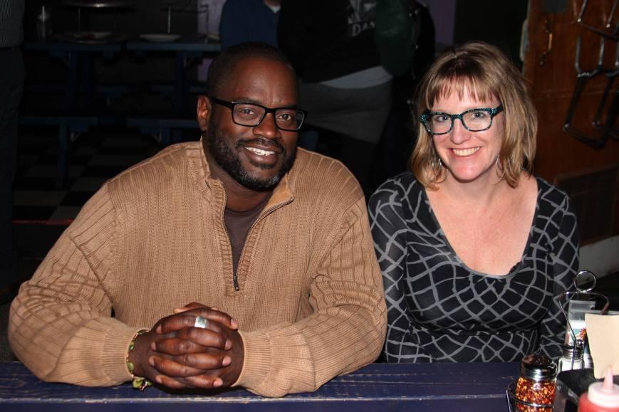 DeWayne Barton and Ami Worthen. Community action.