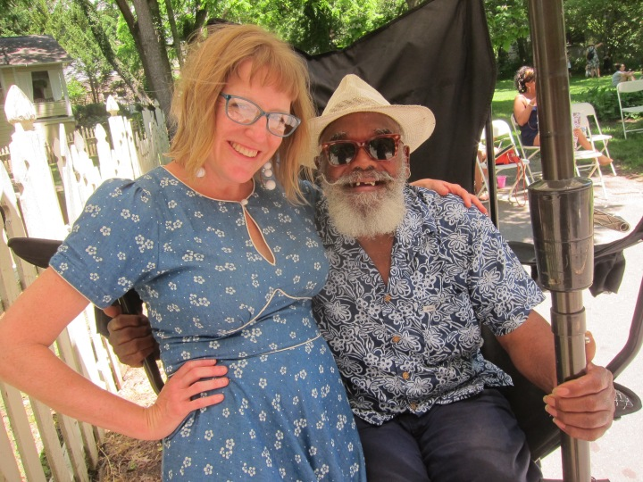Ami Worthen and Odell Irby Montford Arts Festival Asheville
