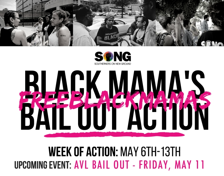 Black Mama's Bail Out - Flyer 2018