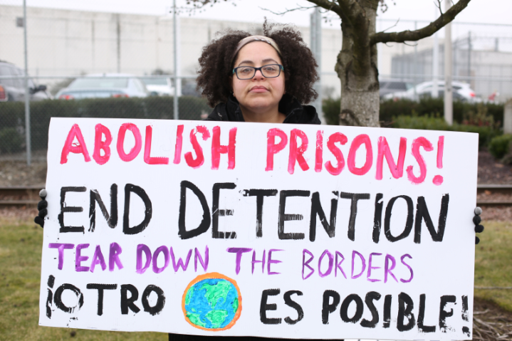 Abolish Prisons. End Detention. Tear Down the Borders. Otra Mundo Es Posible.