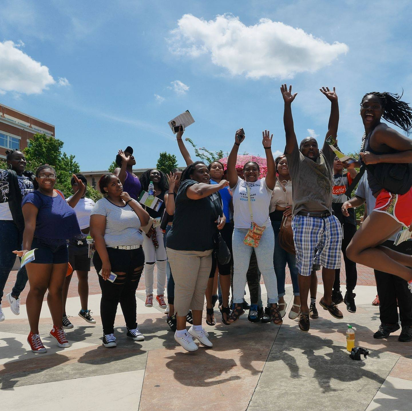 Positive Changes college trip for youth, community action