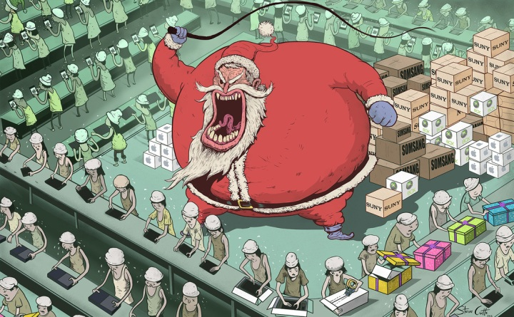 cartoon by steve cutts